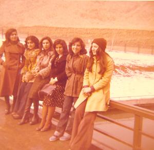 گردش دوستانه دانشجویی زمستان 1354