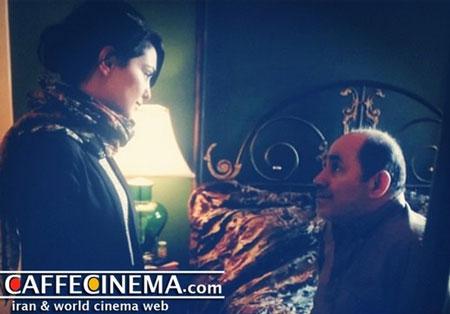 پرویز صیاد و نازنین بنیادی در سریال «هوم لند»